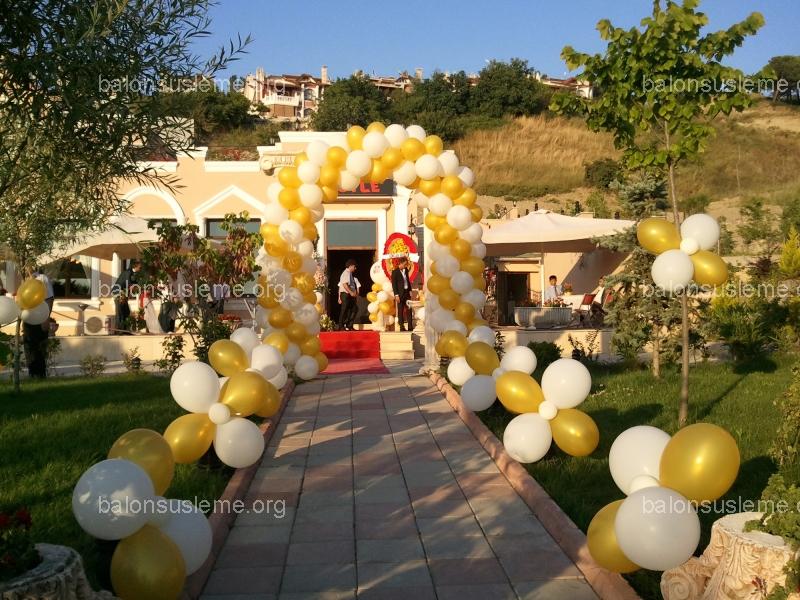 Sünnet Düğünü İçin Balon Süsleme